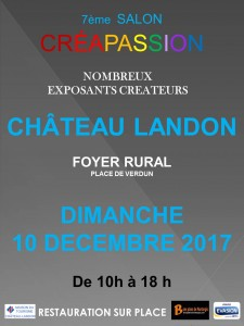 affiche creapassion salon A3 2017 OK