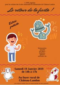 Le retour de la fiesta le samedi 19 janvier 2019