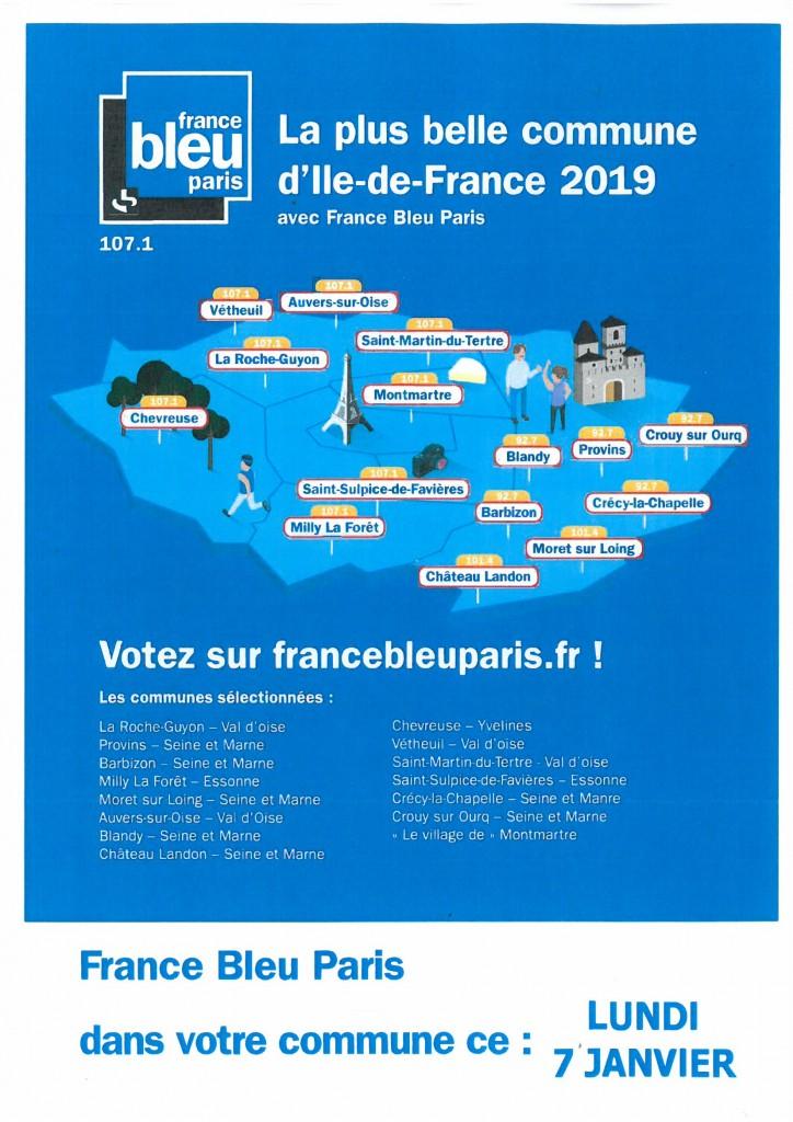 CONCOURS FRANCE BLEU