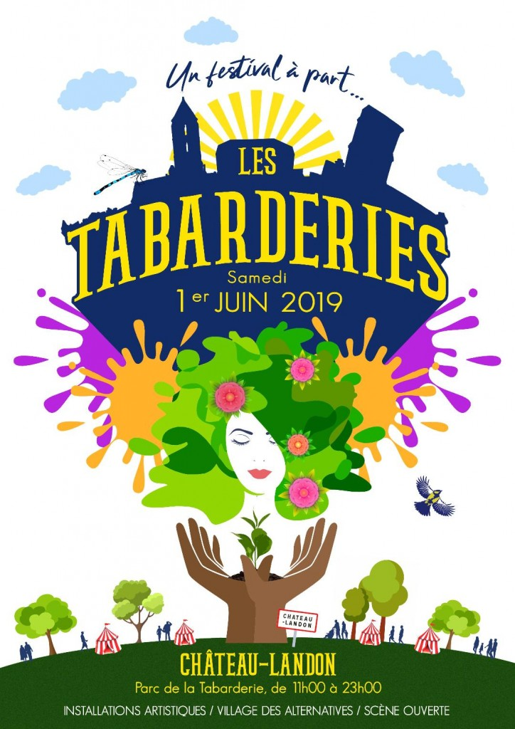 Affiche festival les tabarderies