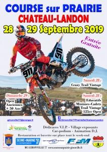 Course sur Prairie les 28 et 29 septembre 2019