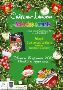 Noël des enfants le 15 décembre 2019 à 14h30 au Foyer rural