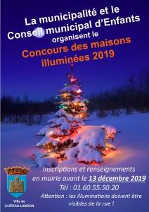 Concours des maisons illuminées 2019