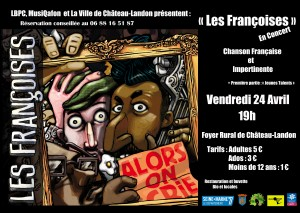 """Concert """"Les Françoises"""" le vendredi 24 avril à 19h au Foyer rural"""
