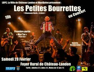 """Concert """"Les Petites Bourrettes"""" le samedi 28 février 2020 au Foyer rural"""